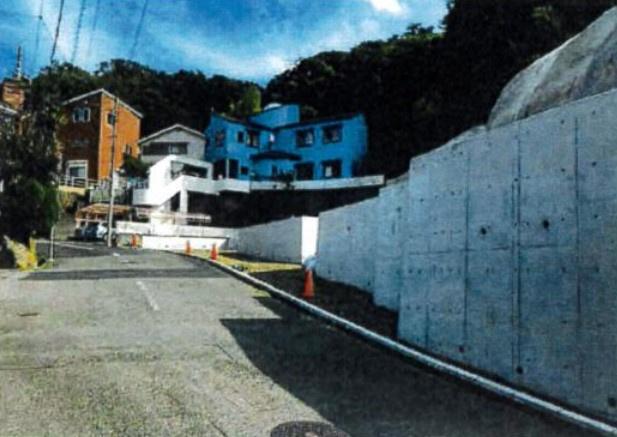 【前面道路含む現地写真】本牧門間3区画売地
