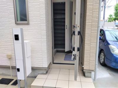 【玄関】賃貸併用住宅 江戸川区西瑞江5丁目AJ一之江Ⅲ