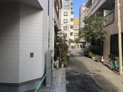 【前面道路含む現地写真】東葛西2丁目 新築戸建
