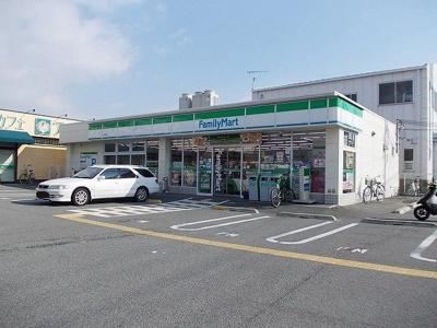 ファミリーマート高津橋店まで400m