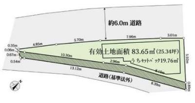 【区画図】鎌倉市大船 新築一戸建