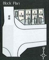 【区画図】【仲介手数料無料】町田市南成瀬4丁目 新築戸建て (全4棟)