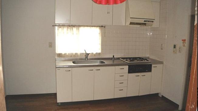 1LDK側のキッチン