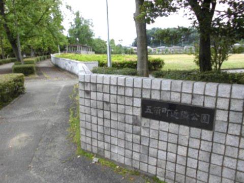 「五領町近隣公園」まで約120m~広い芝生広場があり、ちょっとしたスポーツを楽しむことのできる、市内でも利用者の多い公園