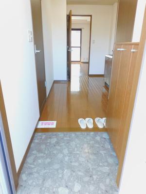 【玄関】コーポ花館