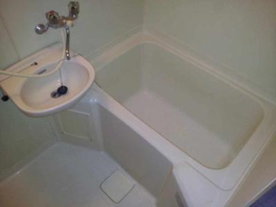 【浴室】レオパレス梢