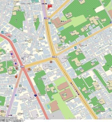 【地図】メインステージ本駒込駅前