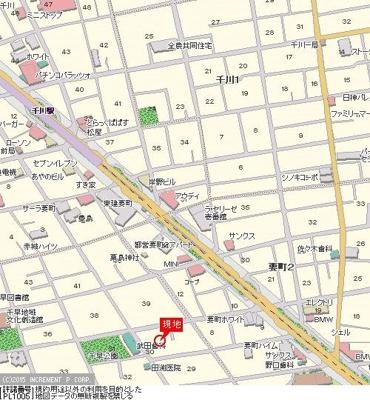 【地図】FORTIS