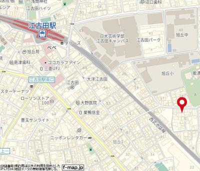 【地図】エメロード江古田