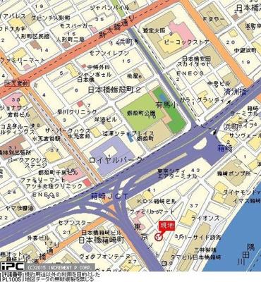 【地図】ヴェルト日本橋シティ