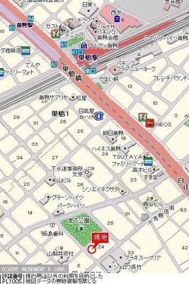 【地図】パレステュディオ文京千石パークサイド
