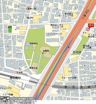 【地図】キャッスルマンション椎名町