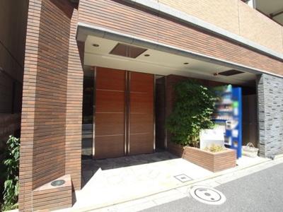 【エントランス】パークウェル早稲田弐番館