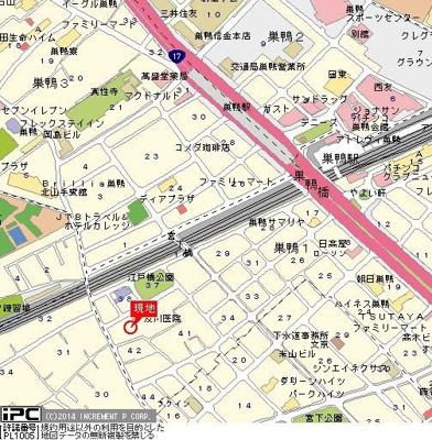 【地図】アートイン巣鴨