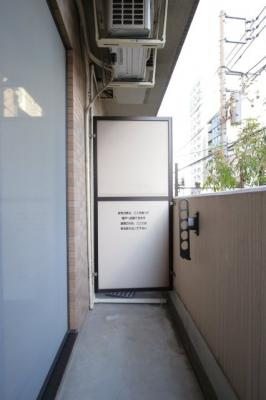【バルコニー】パークウェル神楽坂弐番館