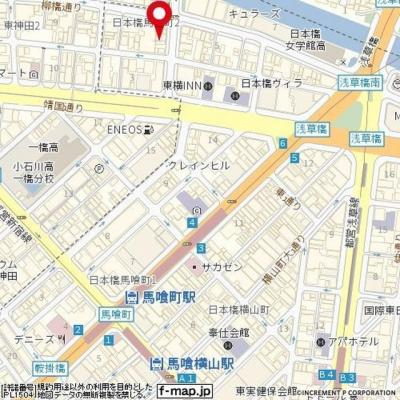 【地図】ガーラ東日本橋