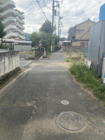 現地前面道路