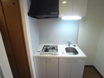 【キッチン】ラグジュアリーアパートメント両国