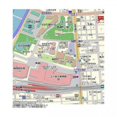 【地図】ラグジュアリーアパートメント両国