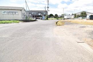 【前面道路含む現地写真】霧島市溝辺町麓