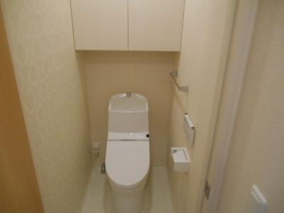 【トイレ】ヴューテラス寺尾の森B