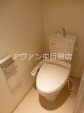 【トイレ】プラチナコート中目黒