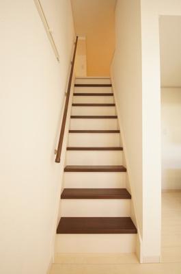 ロフトへは階段なので上り下り安全です。