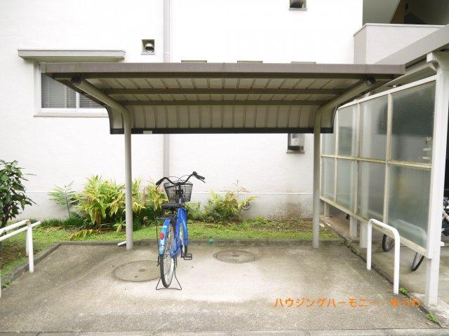【駐輪場】高島平住宅16号棟