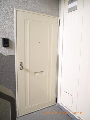 【玄関】高島平住宅16号棟