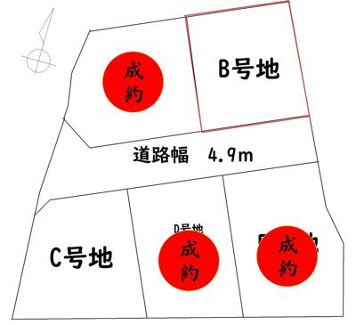 【区画図】いの町枝川
