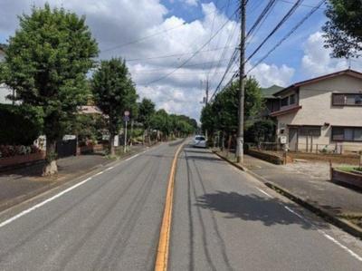 【前面道路含む現地写真】所沢市北岩岡 全1棟