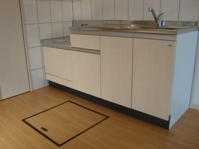 キッチン1階床下収納