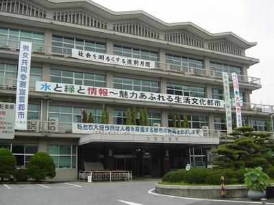 大垣市役所まで2,514m