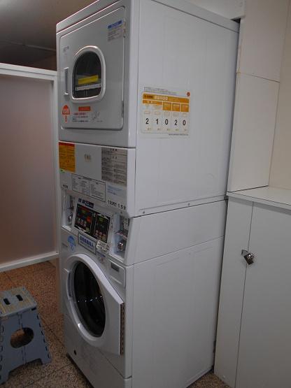 1Fコンランドリー、大型の乾燥機
