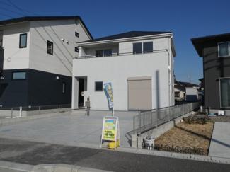 碧南市伊勢町Ⅱ新築分譲住宅1号棟写真です。2021年10月撮影
