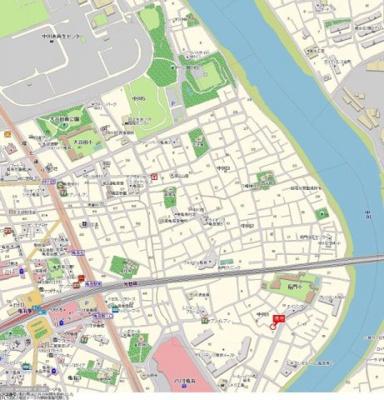 【地図】AQUA LUCEⅡ