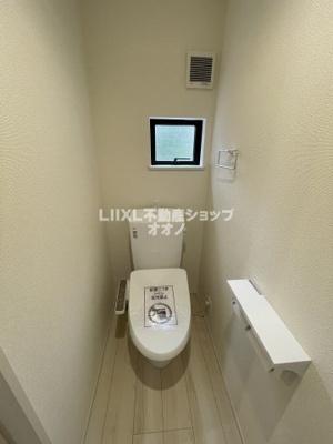 【トイレ】加須市南町 新築一戸建て 全2棟1/2