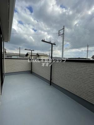 【バルコニー】加須市南町 新築一戸建て 全2棟1/2