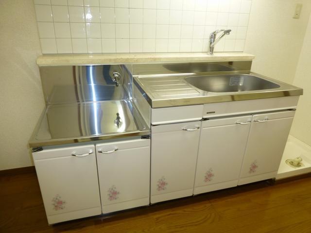【キッチン】コーポラスF