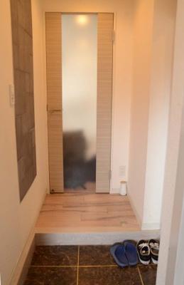 【玄関】シティハウス小杉