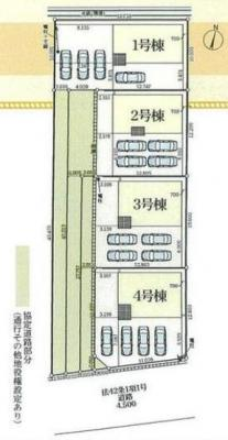 【区画図】藤枝市築地 4期 新築一戸建て 4号棟 AN