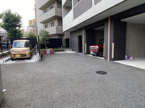 【駐車場】レックスお花茶屋ツインレジデンスウエスト