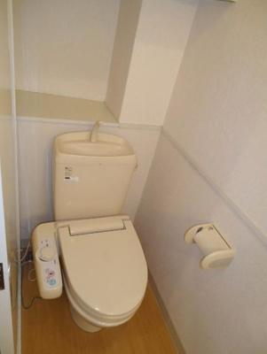 【トイレ】アルピーノ神大寺