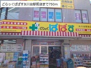 どらっぐぱぱす氷川台駅前店まで750m