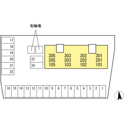 【区画図】リビングタウン薊野