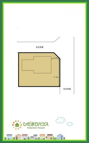 【区画図】日立市西成沢町2丁目 中古戸建