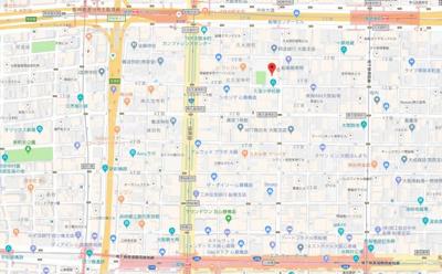 【地図】船場ミッドキューブ