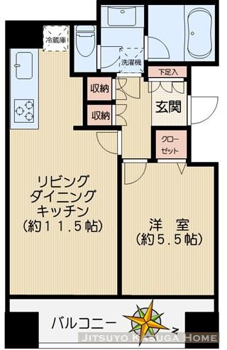 文京区白山2丁目のマンションの画像