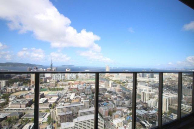 38階スカイラウンジからの眺望