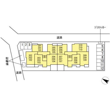 【区画図】パレスグランディオーサ